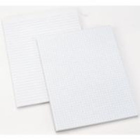 Office Paper Products - White Paper Pads - 5 Style