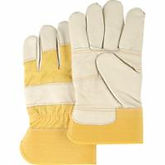 Grain Cowhide Furniture Leather Gloves | Wholesale Safety Labels