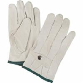 Leather Gloves - Grain Cowhide Ropers Gloves