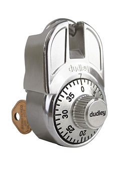 dudley® High Security Lock with Master Key  | Wholesale Safety Labels