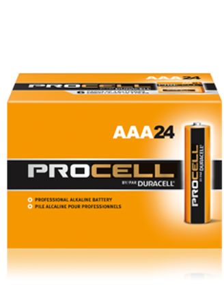 Duracell Procell Alkaline AA or AAA Batteries