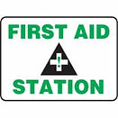 Standard First Aid Signs | Wholesale Safety Labels