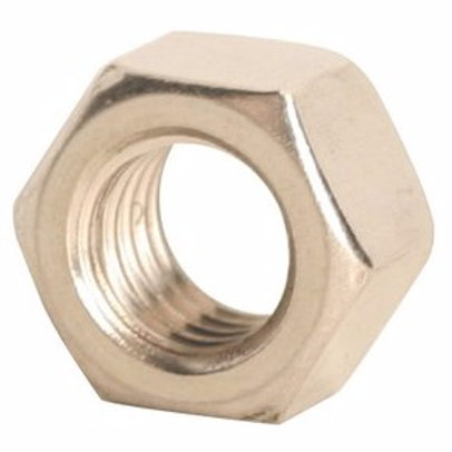 "1/4""-20 18-8 Stainless Steel Finished Hex Nut 100/Box"
