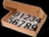 Pressure Sensitive Numbering Kits   Wholesale Safety Labels