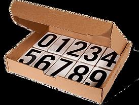 Pressure Sensitive Numbering Kits | Wholesale Safety Labels