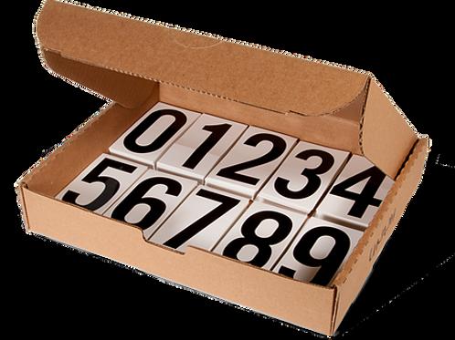 Pressure Sensitive Numbering Kits - 500 / Kit