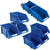 Hi-Stak Plastic Bins | Wholesale Safety Labels