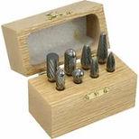 "8 Piece Solid Carbide Burr Set - 1/4"" Shank"