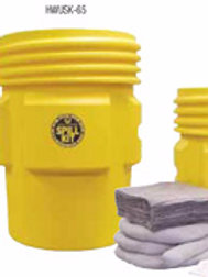 65 Gallon Universal & Oil Spill Kits
