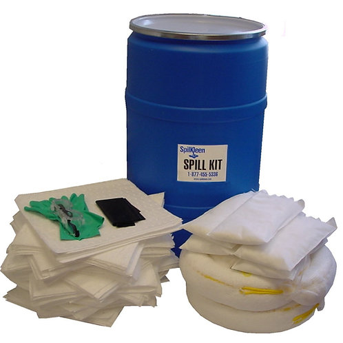 SpilKleen 55 GALLON ECONOMY SPILL KIT
