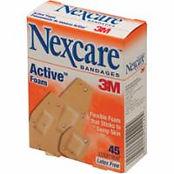 3M NexcareActiveWaterproof Bandages
