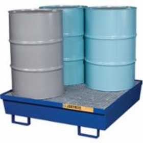 Justrite®Steel Spill Containment Pallets