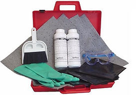 LAB SPILL KIT FOR FORMALDEHYDE & AMMONIA  | Wholesale Safety Labels