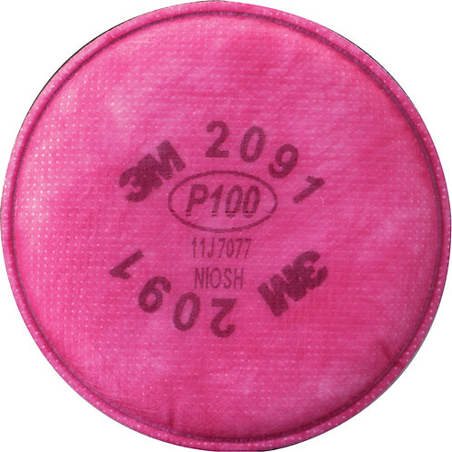 3M P100 Filters 2 / Pack