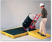 Eagle Low Profile Spill Platforms and Ramp