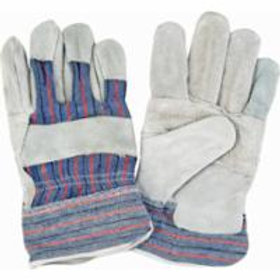 Zenith Split Cowhide Patch Palm Fitters Gloves