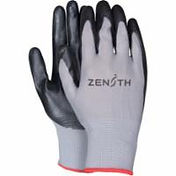 Polyester Shell Lightweight Nitrile Foam Palm Coated Gloves