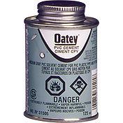 Oatey PVC Medium-Duty Grey Cement