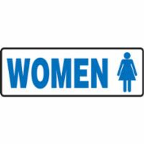 Woman Bathroom Signs