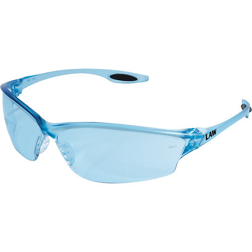 Law® 2 - Orange Temple Inserts, Clear Lens