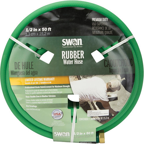 Green Rubber Hoses