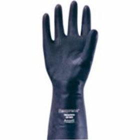 Chemical Resistant Gloves - Ansell Black Neoprene