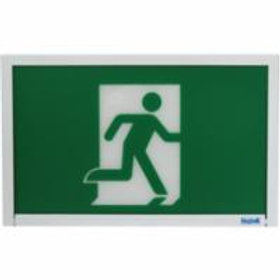 Beghelli Running Man Exit Sign CSA Approved