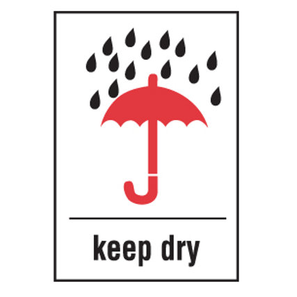 "Shipping Labels - Keep Dry  4"" x 6"" 500/Roll"