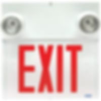 Stella Combination Exit Signs   Wholesale Safety Labels