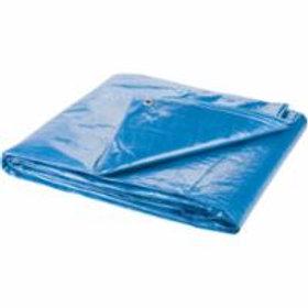 Polyethylene Tarpaulins - Standard-Duty Blue