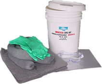 5 Gallon BucketSpill Kits  | Wholesale Safety Labels