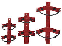 Heavy Duty Vehicle Brackets with Adjustable Straps