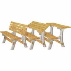 Basics®Flip Top Park Bench / Table