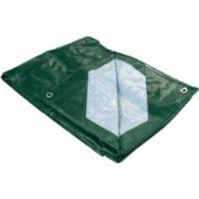Polyethylene Tarpaulins -Industrial Green/Silver