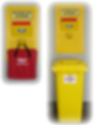 SpilKleen SPILL RESPONSE STATION    Wholesale Safety Labels