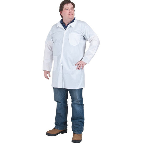 Zenith Safety Protective Clothing- SMS Lab Coat