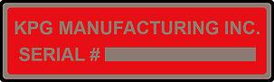 Custom Nameplates - Bar Codes  | Wholesale Safety Labels