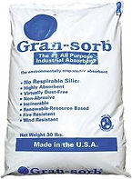 GRAN-SORB Environmentally Friendly Oil Absorbent  | Wholesale Safety Labels