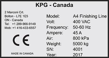 Laminated Polyester Machine Nameplates  | Wholesale Safety Labels