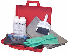 Small Lab Acid & Battery Acid Spill Kit    Wholesale Safety Labels