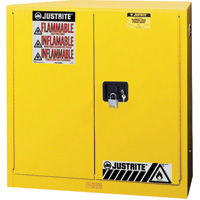 Justrite Sure-Grip® EX Flammable Storage Under Counter Cabinets
