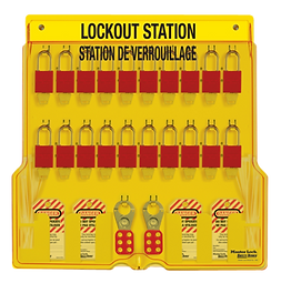 American Lock Lockout Stations | Wholesale Safety Labels