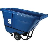 Rubbermaid Recycling Tilt Trucks