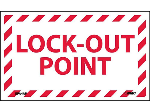 Lock-Out Point Labels