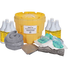 Economy Spill Control Kit - 20-Gallon Battery Acid Spill Kits | Wholesale Safety Labels