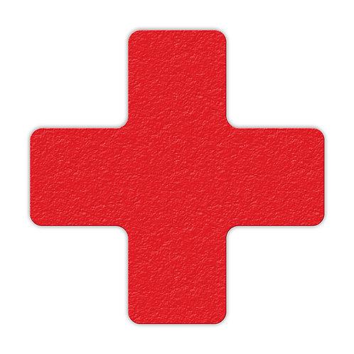 """Cross Shaped Lean 5S Marker - 6"""" H x 6"""" W  25/Pack"""