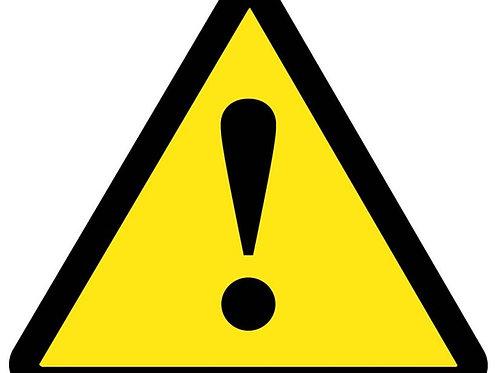 ISO Safety Label Danger Pictogram
