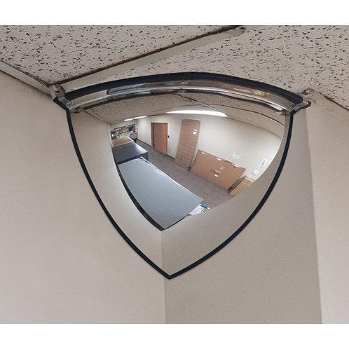 Safety Mirrors - 90 Quarter Dome Mirrors 2 Sizes