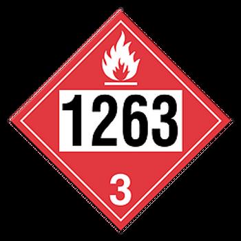 Paint 1263 Placards | Wholesale Safety Labels