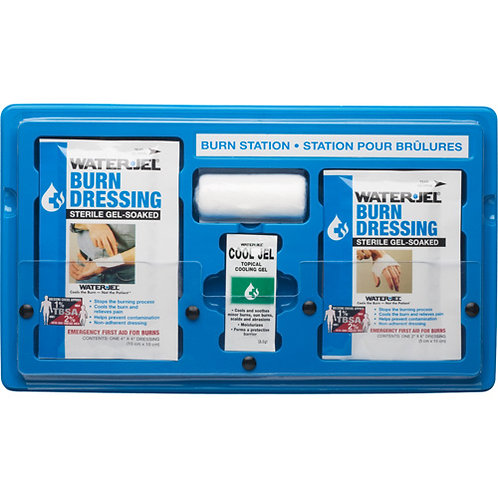 First Aid Stations - Waterjel Burn Station 2 Sizes